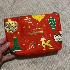 New Holiday Kiehls Makeup Bag